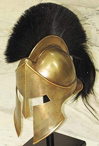 AnNafi® Mittelalterlicher Rüstungskönig Leonidas Griechischer Spartanischer römischer Helm