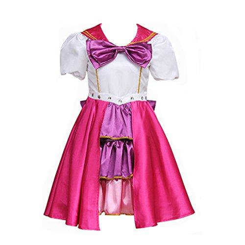 Cosplayitem Damen Mädchen Seemann Kleid Sailor Kostüm Lolita Kleid Rock Tanz kurze (Kinder Für Kostüme Tanz Sailor)