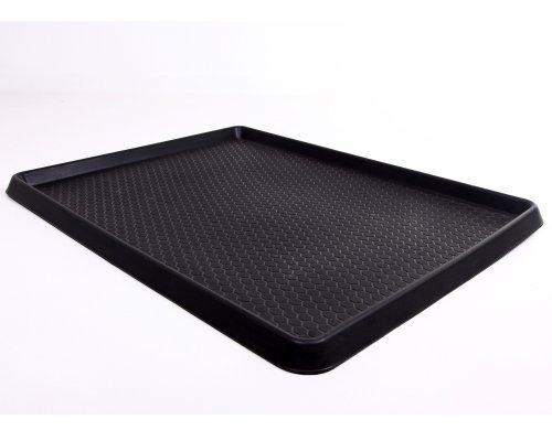 Preisvergleich Produktbild Ondis24 Ablage für Schmutz Schuhablage Kofferraumwanne ca. 90 x 70 x 3 (H) cm mit erhöhtem Rand für Auslaufschutz von Flüssigkeiten