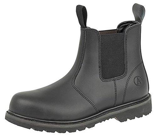 Bild von Amblers Unisex FS5 Sicherheits Stiefel / Schuhe (47 EUR) (Schwarz)