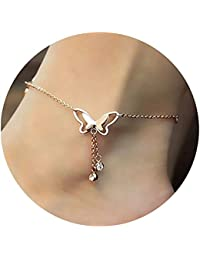 Charms Anklet for Women (Rose Gold)(cr0411)