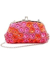 Nitya Biswas Women's Clutch (Pink)