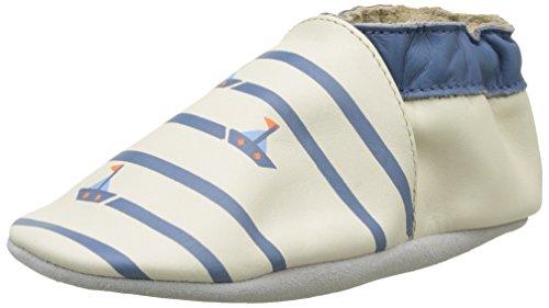 Robeez Quiet Sea, Chaussures de Naissance Bébé Garçon, Beige (Beige), 23/24 EU