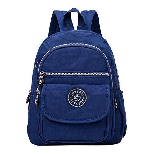 Damen Rucksack Handtaschen Weant Mode Nylon Camouflage Rucksack Handtasche Leder PU Umhängetasche Backpack Schultertasche Anti Diebstahl Tasche Wasserdichte Nylon Schulrucksack