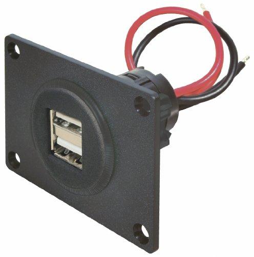 Price comparison product image ProCar 67322000USB Double Socket 12/24Vdc 5A