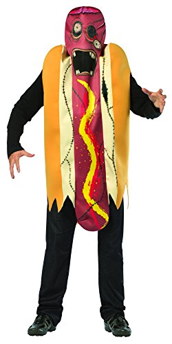 Rasta Imposta Zombie Hot Dog (Für Erwachsenen Zombie Hot Dog Kostüm)