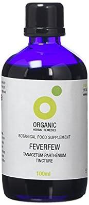 Organic Herbal Remedies 100 ml Feverfew Tincture from Organic Herbal Remedies