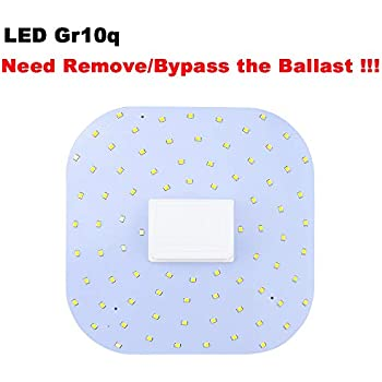 GE LED 2D Lamp 6.5w = 16w 12.5w = 28w CFL Replacement DD Butterfly Lamp CCG//ECG