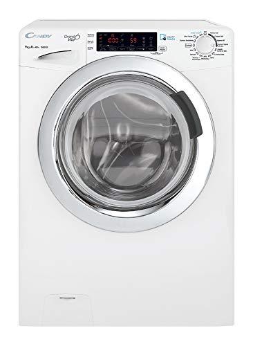 Candy GVS159TWHC701 lavatrice Libera installazione Caricamento frontale Bianco 9 kg 1500 Giri/min A+++