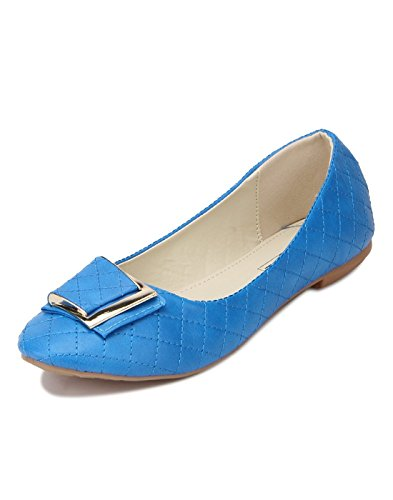Yepme Women's Blue Synthetic Bellies