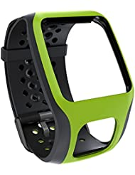 TomTom Comfort Strap - Correa para GPS TomTom Runner/Multi-Sport (Resistente a rayones), verde claro