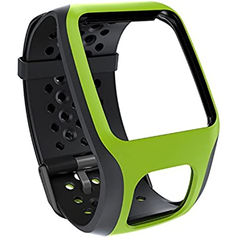 TomTom Comfort Strap - Correa para GPS TomTom Runner/Multi-Sport (Resistente a rayones), verde
