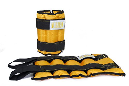 Aurion W9393 Ankle Weights, 5Kg Set of 2