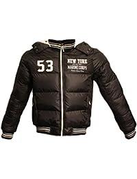 Tisey® F-5 Steppjacke Sweatjacke Herren Winter-Jacke gefüttert Jacke Mantel Daunenjacke sky jacke winterjacke herren winter jacke