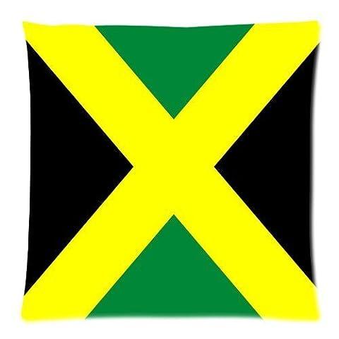 Jamaica National Flag Custom Zippered Pillow Cushion Case Throw Pillow Covers 18