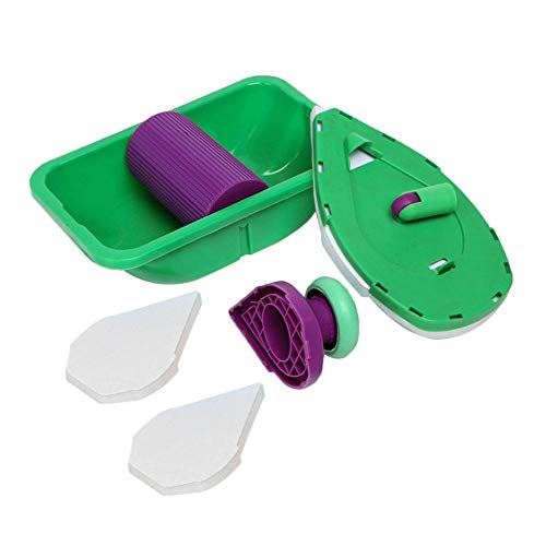 Point & Paint Einfache Paint Pads Punkt Malerei Roller Tray Multifunktionswerkzeug und Schwamm Set Kit Haushalt DIY Malerei Kit -