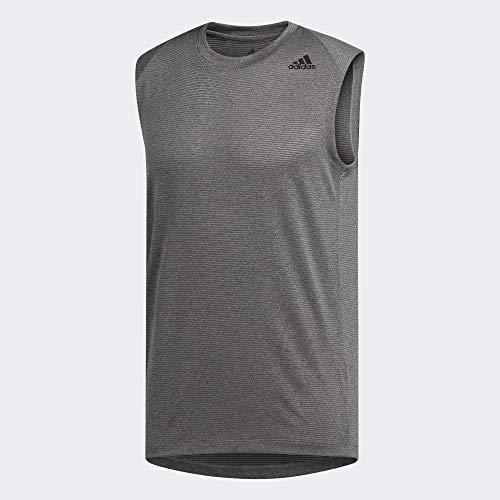 adidas Herren FL_Tec Z Col Sl ärmelloses T-Shirt, Mehrfarbig (Gritre/Hthr), XL (Cola-tank)
