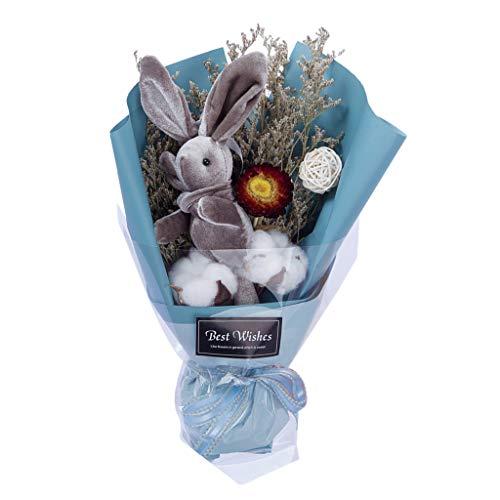 Preisvergleich Produktbild Gaddrt 7x18x29cm Trockenblumenstrauß Kreativer Home Hochzeit Dekor Blumenstrauß (A)
