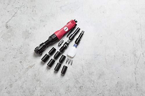 Kraft Werkzeuge Druckluft Ratschenschrauber-Set 16tlg.