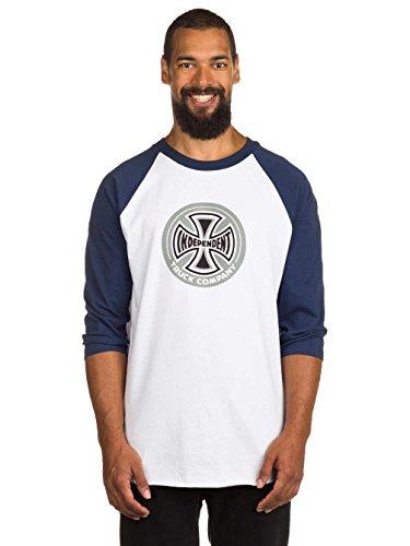 Herren Langarmshirt Independent 88 TC Baseball T-Shirt Navy/White