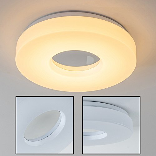 LED-Plafoniera-Forma-Rotonda-Loris-18-Watt-Design-Bagno