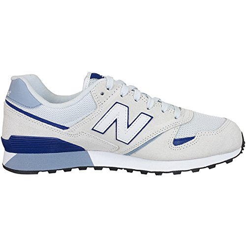 New Balance U446 D Sneaker Trainer 570201-060-3 White/Blue