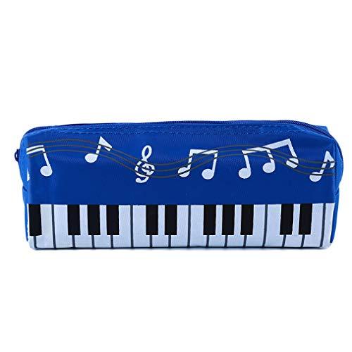 Sevenfly Bleistift Kasten Schulbedarf Büro Briefpapier Musik Klavier Tastatur musikalische Kosmetik Taschen (Tasche Tastatur Musikalische)