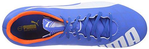 Puma evoSPEED 5.4 FG Herren Fußballschuhe Blau (electric blue lemonade-white-orange clown fish 03) fradFO