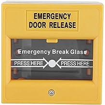 Boton de emergencia - Botón de alarma de salida de emergencia contra incendios - Botón de