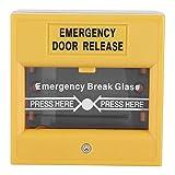 Boton de emergencia - Botón de alarma de salida de emergencia contra incendios - Botón de emergencia de apertura de puerta para seguridad en el hogar