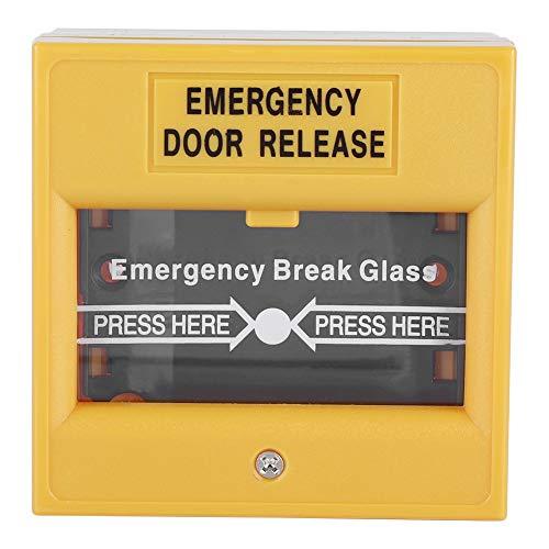 Descripción: El producto es un botón de liberación de salida de emergencia de vidrio roto (unipolar), adecuado para puertas de salida y de emergencia.  Caracteristicas: Nuevo botón de alarma de desbloqueo de emergencia para vidrios rotos. Soporta con...