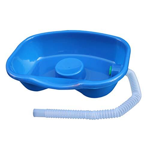 Healifty Haarwaschbecken Medizinische Patientenversorgung Bettwaschwanne (Blau)