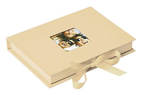 Foto-Geschenkbox Fun, creme, für Fotos bis Format 13X18 cm