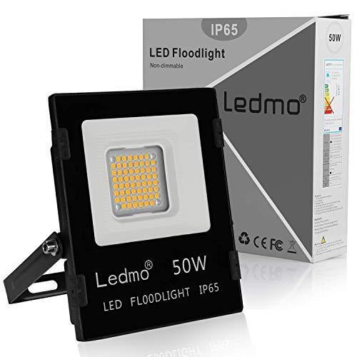 LEDMO foco led 50W 2700k focos led exterior blanco