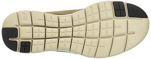 Skechers Flex Advantage 2.0, Scarpe Running Uomo Beige (Tan)