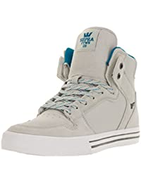 Supra Vaider Light Grey Brilliant Blue White S28288 Sneaker