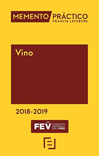 Memento Vino 2018-2019 por Lefebvre-El Derecho