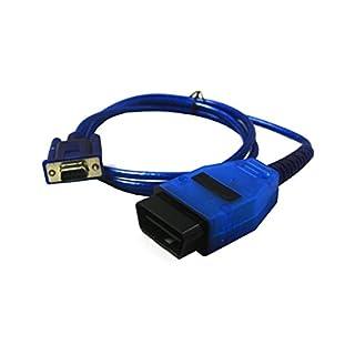 GLLC OBD2/OBDII KKL COM Serial Port 409.1Kabel Fault Code Diagnostic Interface