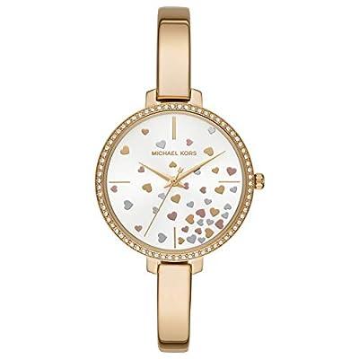 Michael Kors Reloj Analógico para Mujer de Cuarzo con Correa en Acero Inoxidable MK3977