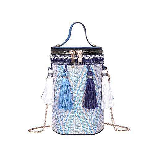 Damen Rucksack Wasserdichte Nylon Schultaschen Anti-Diebstahl Tagesrucksack Schultertaschen -