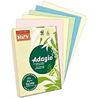 Rey Adagio A4 Pastel Paper 80g in Assorted Colours preiswert