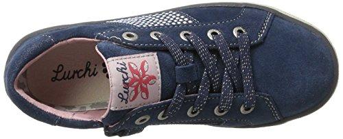 Lurchi Mädchen Shirin Sneaker Blau (Jeans)