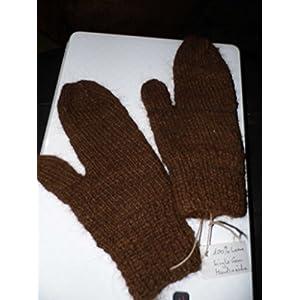 Handschuhe aus 100% Bio Alpaka Single Garn. Ein wunderschönes Unikat