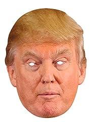 Idea Regalo - Funny Costumes-Maschera Donald Trump (Rubies, dtrum02)