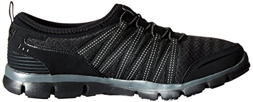Skechers - Gratis shake-it-off, Scarpe da ginnastica Donna Nero/Carbone