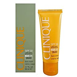 Clinique Face SPF 30 with Solar Smart Cream for Unisex, 1.7 Ounce