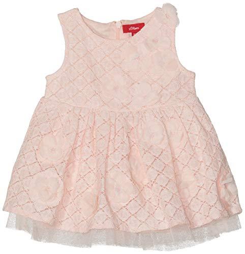 s.Oliver Baby-Mädchen 59.902.82.5262 Kleid, Rosa (Light Rose 4058), (Herstellergröße: 74)