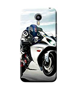 Be Awara Racer Printed Back Case Cover for Meizu M3 Note