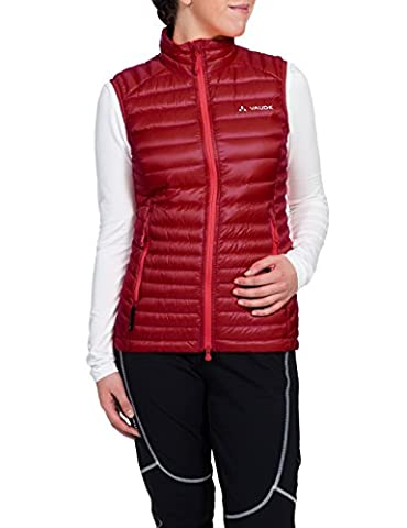 VAUDE Damen Weste Kabru Light Vest, Indian Red, 40,