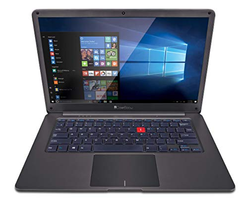iBall Premio V 3 2018 14-inch Laptop (Intel Pentium Processor N4200/4GB/32GB/Windows 10 Home/Integrated Graphics), Metallic Gun Mustard